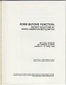 View <em>Form Beyond Function</em> digital asset: page 2