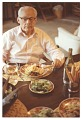 View Antonio Sotomayor dining on paella digital asset number 0