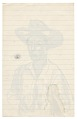 View <em>Man in hat</em> digital asset: verso
