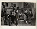 View Moses Soyer and others in his studio digital asset number 0