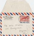 View Gala Dali, Pebblebeach, Calif. letter to Otto Spaeth, Dayton, Ohio digital asset: envelope