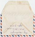 View Gala Dali, Pebblebeach, Calif. letter to Otto Spaeth, Dayton, Ohio digital asset: envelope verso