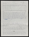 View Draft Transcripts of Interviews with Minnie Evans by Nina Howell Starr and Celestine Ware digital asset number 3
