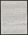 View Draft Transcripts of Interviews with Minnie Evans by Nina Howell Starr and Celestine Ware digital asset number 7