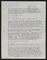 View Draft Transcripts of Interviews with Minnie Evans by Nina Howell Starr and Celestine Ware digital asset number 10