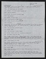 View Draft Transcripts of Interviews with Minnie Evans by Nina Howell Starr and Celestine Ware digital asset number 8