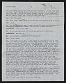 View Draft Transcripts of Interviews with Minnie Evans by Nina Howell Starr and Celestine Ware digital asset number 6