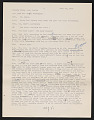 View Draft Transcripts of Interviews with Minnie Evans by Nina Howell Starr and Celestine Ware digital asset number 2
