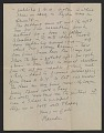 View Marsden Hartley letter to Helen Stein digital asset number 1