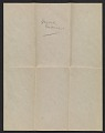 View Marsden Hartley letter to Helen Stein digital asset: verso