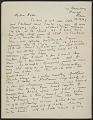 View Marsden Hartley, Bangor, Me. letter to Helen Stein, East Gloucester, Mass. digital asset number 0