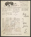 View Saul Steinberg to Hedda Sterne digital asset number 0