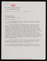 View Dupont Plastics Products Division letter to Kay Sekimachi Stocksdale digital asset number 0