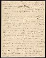 View John Henry Bradley Storrs letter to Marguerite Deville Chabrol Storrs digital asset number 2