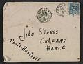 View Berenice Abbott letter to John Henry Bradley Storrs digital asset: envelope