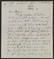 View Berenice Abbott letter, Berlin, Germany, to John Henry Bradley Storrs, Paris, France digital asset number 0