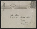View Berenice Abbott letter, Berlin, Germany, to John Henry Bradley Storrs, Paris, France digital asset: envelope