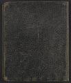 View John Storrs diary digital asset: cover back