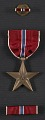 View George Leslie Stout's Bronze Star medal and case digital asset number 3