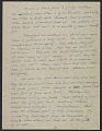 View George Stout letter to his wife Margaret Stout digital asset: page 3