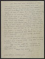 View George Stout letter to his wife Margaret Stout digital asset: page 4
