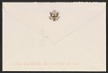 View President Gerald Ford letter to Pat Oliphant digital asset: envelope verso
