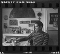 View Contact sheet with images of William Christenberry in his studio, and others digital asset number 1