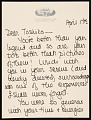 View Joan Mondale letter to Toshiko Takaezu digital asset number 0