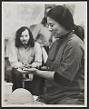 View Toshiko Takaezu at the potter's wheel digital asset number 0