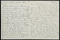 View Henry Ossawa Tanner letter to Eunice Tietjens digital asset number 0