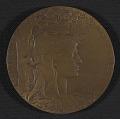 View Henry Ossawa Tanner's <em>Exposition Universelle</em> award medal digital asset number 0