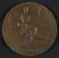 View Henry Ossawa Tanner's <em>Exposition Universelle</em> award medal digital asset: verso