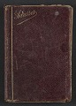 View Henry Ossawa Tanner's address book digital asset: cover