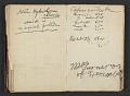 View Henry Ossawa Tanner's address book digital asset: pages 30