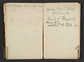 View Henry Ossawa Tanner's address book digital asset: pages 33