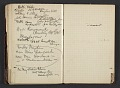 View Henry Ossawa Tanner's address book digital asset: pages 36