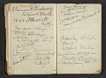 View Henry Ossawa Tanner's address book digital asset: pages 46