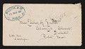 View Letter from Edmund C. Tarbell, Paris, France to Emeline Souther Tarbell, Boston, Massachusetts digital asset: envelope