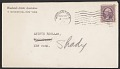 View Woodstock Artists Association, Woodstock, N.Y. letter to Andrée Ruellan, Shady, N.Y. digital asset: envelope