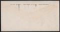 View Julius T. (Julius Thiengen), Bloch, Philadelphia, Pa. letter to Andrée Ruellan, John W. Taylor, and Lucette Ruellan, Shady, N.Y. digital asset: envelope verso