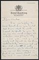 View Isamu Noguchi, New York, N.Y. letter to Andrée Ruellan, Paris, France digital asset: page 1