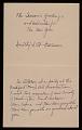 View Dorothy Harrison christmas card to Prentiss Taylor digital asset: verso