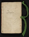 View Mary Thayer diary digital asset number 0