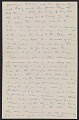 View Charles Webster Hawthorne letter to Emma Beach Thayer digital asset: page 2