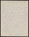 View Charles Webster Hawthorne letter to Emma Beach Thayer digital asset: page 4
