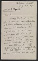 View Letter from Alfred R. Wallace to Abbott H. Thayer digital asset: page