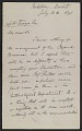 View Letter from Alfred R. Wallace to Abbott H. Thayer digital asset number 1