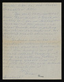 View Anne Parrish letter to Polly Thayer digital asset: verso