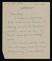View John G. Coolidge letter to Polly Thayer digital asset number 0