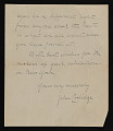 View John G. Coolidge letter to Polly Thayer digital asset number 1
